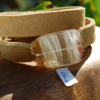 thumbs brwn citrine1 Leather Wrap Bracelets