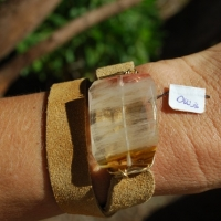 thumbs brwn citrine1 0 Leather Wrap Bracelets