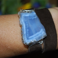 thumbs dw70 blue laced agate suede sold1 Leather Wrap Bracelets