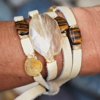 thumbs multi wrap arm Multi Wrap Leather Bracelets
