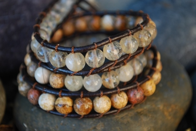 tb57-b-triple-beaded-45-clear-and-earth-stones